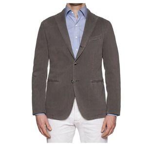 Boglioli Wool K Jacket Unlined Unstructured Sz 40